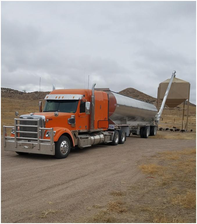 Farmers Ranchers Co-Op Truck